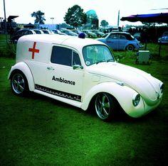 VW Bug Ambulance..!