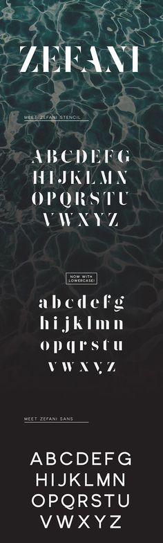 Zefani - Free Typeface