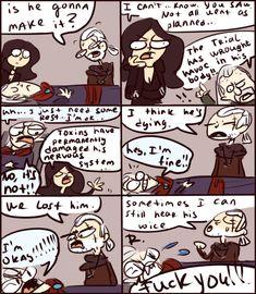 The Witcher 3, doodles 71 by Ayej.deviantart.com on @DeviantArt