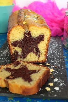 Vanilla and chocolate spiced surprise cake for the 3 years old of the blog (gluten free, dairy free, vegan)