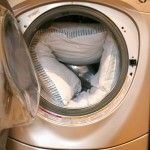You can wash pillows, oh yes you can! - iDreamOfClean