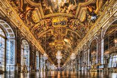 Palace of Versailles, Île-de-France.