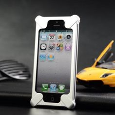 Aluminum Cleave X-5 Transformers Metal Bumper Case Cover for iPhone 5(Silver) - iPhone 5 Cases & Covers - iPhone 5 Accessories - iPhone Accessories