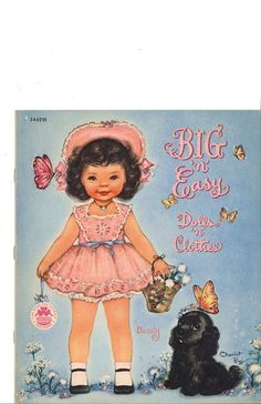 Big 'n' Easy Dolls and Clothes paper doll, Candy
