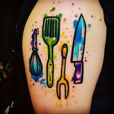 #tatoo #chef chef tatoo