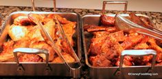 Cape May Cafe:  Roast Chicken and Pork Ribs