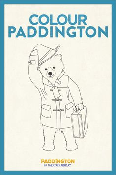 Welcome to the official Paddington website. This is your first port of call for finding out everything relating to the famous bear, his author Michael Bond and the movie. Ours Paddington, Printable Coloring Sheets, Bear Birthday, Free Activities, Activity Sheets, Free Coloring Pages, First Birthday Parties, Baby Quilts, Winter Wonderland