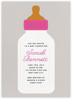 Baby bottles meringue paperless post yuki shower invite baby shower invitations paperless post filmwisefo Gallery