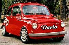 Fiat 600 Club - Passion for Fitito - someone knows who this fiat is - Changes Source by matti_merio Fiat 500, Turin, Fiat Abarth, Asian Lingerie, City Car, Pickup Trucks, Cars And Motorcycles, Cool Cars, Volkswagen