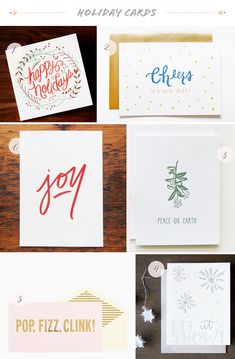 Seasonal Stationery: 2013 Holiday Cards, Part Swash Press; Scout's Honor Co. Click through for the full links and resources! Modern Christmas Cards, Diy Holiday Cards, Message Card, Letterpress, Birthday Cards, Stationery, 3 Bears, Invitation Ideas, Wedding Invitation