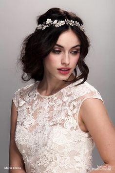 Maria Elena Spring 2016 Bridal Headpieces