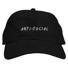 Anti Social Dad Hat – Fresh Elites