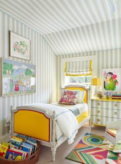Nick Olsen child's room via AD, photo by Pieter Estersohn