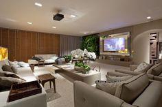 Salas de TV – veja modelos lindos e dicas decoração!