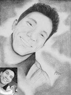 Desenho realista...meu bem s2!! #desenhorealista #lapisepapel #pretoebranco