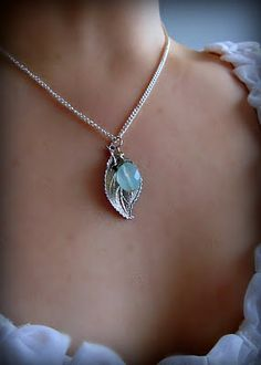 #jewlery #necklace #leafcharm #turquoise #teal