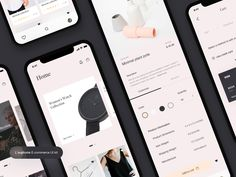 L'euphorie E-commerce UI Kit Freebie 🛍 designed by Spatiums. Connect with them on Dribbble; Web Design, Store Design, Layout Design, Ui Kit, Ecommerce App, Catalog Design, Screen Design, Hosting Company, Mobile Design