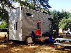 Wesley and his wife's self built $8,000 tiny house