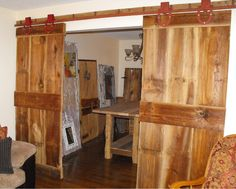 """These doors are on my """"test track"""". They are going to a new home in Oak Grove, MO."""
