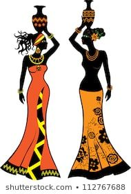Find Beautiful African Woman Vases Two Versions stock images in HD and millions of other royalty-free stock photos, illustrations and vectors in the Shutterstock collection. Thousands of new, high-quality pictures added every day. Beautiful African Women, African Beauty, African Men, African Attire, African Style, African Dress, African Artwork, African Art Paintings, Pichwai Paintings