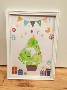 Christmas Crafts For Kids, Christmas Projects, Handmade Christmas, Halloween Crafts, Diy And Crafts, Arts And Crafts, Paper Crafts, Hand Kunst, Baby Footprint Art