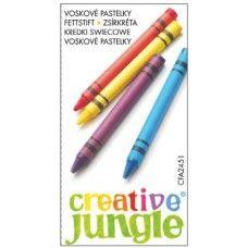 Zsírkréta készlet 6 darabos - Creative Jungle - 79Ft - Zsírkréta - Zsírkréta készlet - Viaszkréta