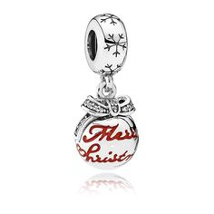 Pandora Merry Christmas Bauble Charm 792008CZ