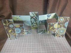 Double tri-shutter card by Raz & Dazzle Ink