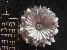 DIY How to Make a Fabirc Flower \ DIY Flor de Cuadros - YouTube