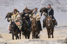 Nomads Hunting with Golden Eagles in Mongolia