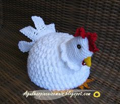 Needle and Brush: crochet Chicken