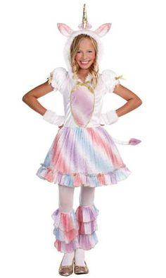 Girls Enchanted Lil' Unicorn Costume - Halloween Costumes