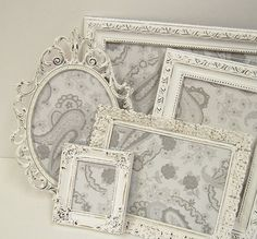 French shabby chic frames