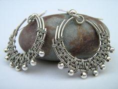 Wirewrapped earrings