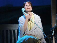 Kelli O'Hara as Francesca Johnson in The Bridges of Madison County, February 19, 2014