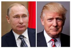 U.S. President Donald Trump and Russian President Vladimir Putin on Tuesday moved to ease the tension from U.S. air strikes in April against Russian ally Syria, expressing a desire for a Syrian ceasefire and safe zones for the civil war's refugees.