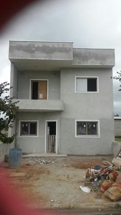 Mini House Plans, Model House Plan, Small House Plans, Village House Design, Bungalow House Design, Modern Small House Design, House Under Construction, Flat Roof House, Duplex Design