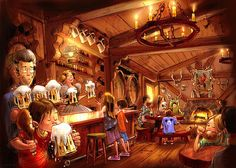 MouseInfo.com - The Snuggly Duckling Tavern at Disneyland - #YeahRightFiles