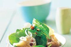 Topinambur Spinat Salat Rezept - FIT FOR FUN