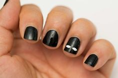easy halloween nails step by step - Google Search