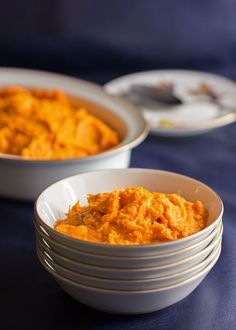 Mashed sweet potatoes with 3 ingredients in less than 20 minutes | mjskitchen.com