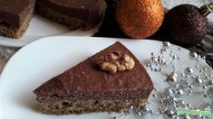 Csokis diós torta - FittKonyha Paleo, Dios, Food Cakes, Beach Wrap, Paleo Food