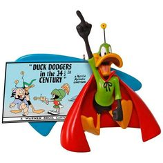 LOONEY TUNES Duck Dodgers in the 24 1/2th Century DAFFY DUCK Ornament