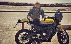 xsr900 caferacer yamaha 60th anniversary motorcycle