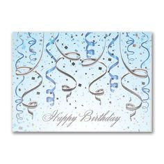 The Celebration Is On - Birthday Card
