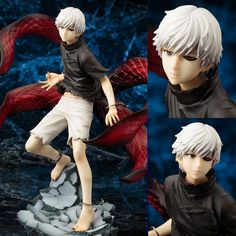 Anime Tokyo Ghoul figure toys Mask Ken Kaneki Melanism PVC Action Figure Collection Model Toy gift