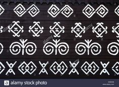 Stock Photo - painted pattern on side of log house in Cicmany, UNESCO World Heritage Site, Slovakia Painting Patterns, Art Patterns, Log Homes, World Heritage Sites, Pattern Art, Embroidery Patterns, Stock Photos, Vectors, Easter