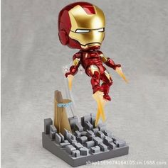 The Avengers Iron Man model anime movie action figure pvc toy classic toys for boys great gifts for kids hot sell superhero(China (Mainland))
