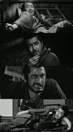 Toshiro Mifune in Sanjuro, Kurosawa Akira, Toshiro Mifune, Movie Shots, Japanese Film, Samurai Warrior, Great Films, Film Stills, Film Director, Old Movies