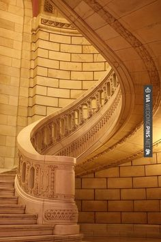 So awesome! - Marble Staircase, Cleveland Courthouse | CHECK OUT MORE IDEAS AT WEDDINGPINS.NET | #weddings #weddingplanning #coolideas #events #forweddings #weddingplaces #romance #beauty #planners #weddingdestinations #travel #romanticplaces #eventplanners #weddingdress #weddingcake #brides #grooms #weddinginvitations